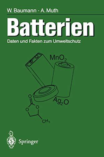 Batterien: Daten und Fakten zum Umweltschutz
