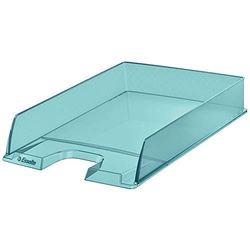 Esselte 626274 - Vaschetta portacorrispondenza Colour'Ice, 10 pezzi, blu