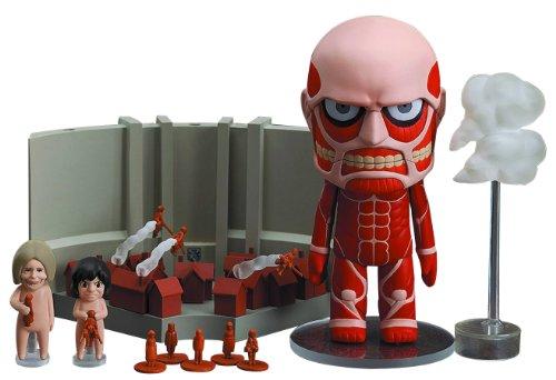Jouer ensemble de l'attaque sur Titan Nendoroid tr?s grand et avance g?ant (non-?chelle ABS & PVC peint figurines mobiles) (japan import)