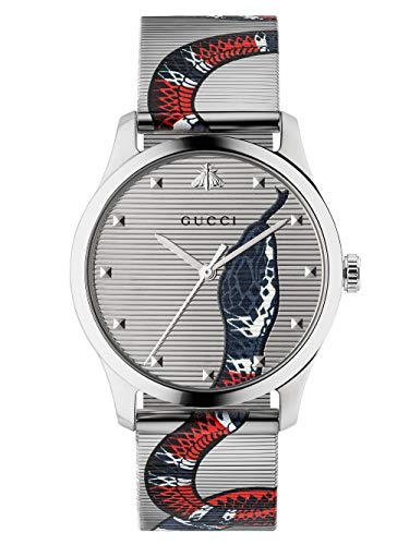 GUCCI Heren G-Tijdloze Armband Band Horloge, Multi 38mm YA1264123