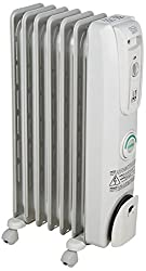 powerful Delonghi oil cooler heating, quiet, 1500 W, adjustable thermostat, 3 heating modes, …