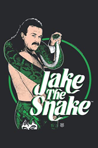 WWE Jake The Snake Roberts With Logo: Plan Your Day In Seconds: Notebook Planner, Daily Planner Journal, To Do List Notebook, Daily Organizer
