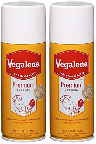 Vegalene Premium 3 Oil Blend Cooking Spray, 14 oz (Pack of 2)