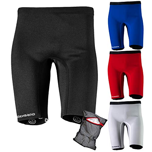 Ziatec Rehband QD Thermo-Hose Edition, Kompressions-Hose, Thermo-Shorts, Größe:M, Farbe:Weiss