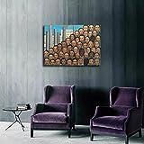 Liuqidong Cuadro de Arte de Pared Tarsila Do Amaral Opera HD Impresión en Lienzo Pinturas Arte de la Pared Imágenes 60x90cm