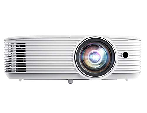 Optoma GT1080HDR Short Throw Gaming Projector | Enhanced Gaming Mode for 1080P 120Hz Gaming at 8.4ms | 4K UHD Support | Play HDR for 4K and 1080P | High 3800 lumens for Day & Night Gaming, White