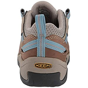 KEEN Women's Steens Vent Hiking Shoe, Brown, 9.5