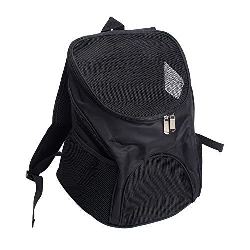 REFURBISHHOUSE Haustier Reisen au?en Tragen Katzen Tasche Rucksack Tr?ger Produkte Liefert Für Katzen Hunde Transport Tier Kleine Haustiere Kaninchen schwarz