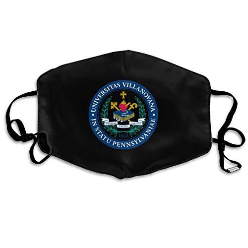 Villanova University Breathable Anti Dust Mouth Mask with Adjustable Earloop Black