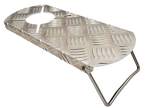 『N-project アルミ縞板 フルカバー遮熱板【SOTO ST-310専用】 (折畳)』のトップ画像