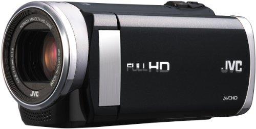 JVC GZ-EX210BEU Full-HD Camcorder (1,5 Megapixel, 7,6 cm (3 Zoll) Display, 40-Fach Opt. Zoom, HDMI, WiFi, USB 2.0) schwarz