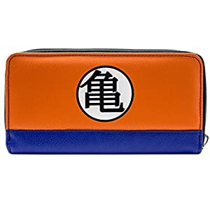 Cartera de Dragon Ball Z Kame simbolos Naranja