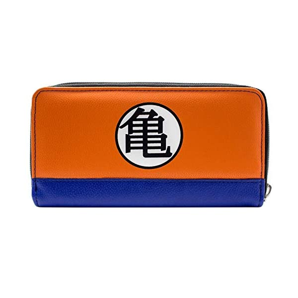 41tj3PHj2IL. SS600  - Cartera de Dragon Ball Z Kame simbolos Naranja