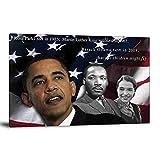 FINDEMO Barack Obama Poster, dekoratives Gemälde,