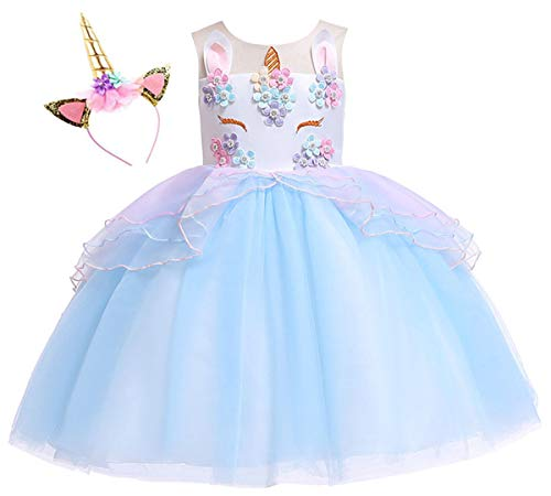 (40% OFF Coupon) Girls Unicorn Dress $20.39