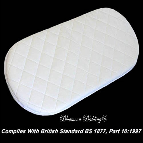 Bluemoon Bedding Quilted Breathable PRAM Mattress FITS Baby Style Oyster CARRYCOT PRAM