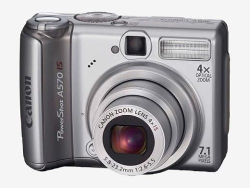 Canon PowerShot A 570 IS Digitalkamera (7 MP)