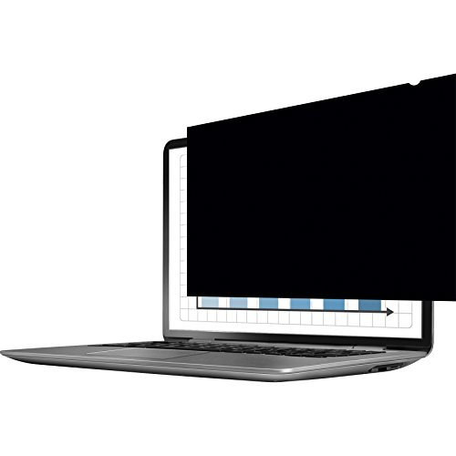 """Fellowes PrivaScreen Filtro Privacy Antiriflesso e Protezione Schermo per Laptop da 14"""" con Rapporto 16:9 Widescreen, Quick Reveal Tabs per Rimuovere e Riposizionare Facilmente Il Tuo Filtro"""