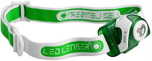 LED Lenser SEO3 Tête Lampe torche vert Vert Test It