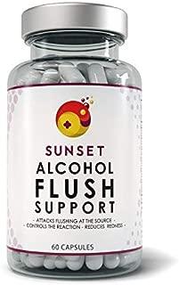 Sunset Alcohol Flush Support
