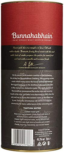 Bunnahabhain 12 Jahre - Islay Single Malt Scotch Whisky (1 x 0.7 l) - 3