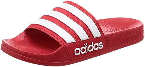 Adidas Adilette Shower Chanclas Hombre, Rojo (Escarl/Ftwbla/Escarl 000), 42 EU (8 UK)