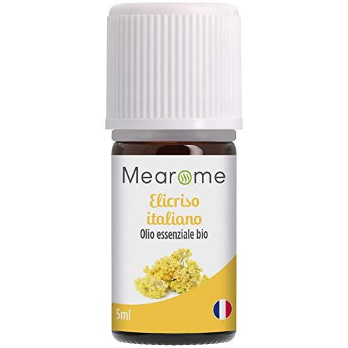 Olio essenziale di Elicriso Italiano | Aromaterapia e Diffusione | Uso Alimentare | Contro le Contusioni | Distillato in Francia | 5 ml | 100% Puro e Naturale | HEBBD, HECT | Nutrimea Mearome