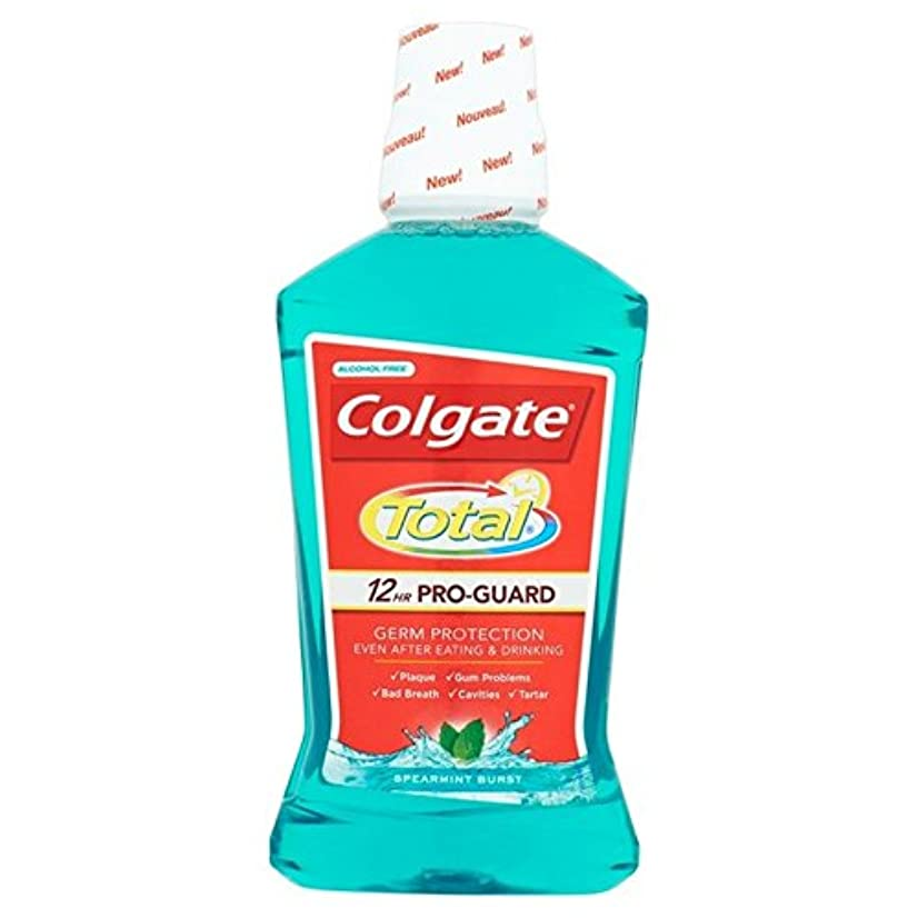 アベニュー百利用可能コルゲートトータル先進的な緑色のマウスウォッシュ500ミリリットル500ミリリットル x2 - Colgate Total Advanced Green Mouthwash 500ml 500ml (Pack of 2) [並行輸入品]