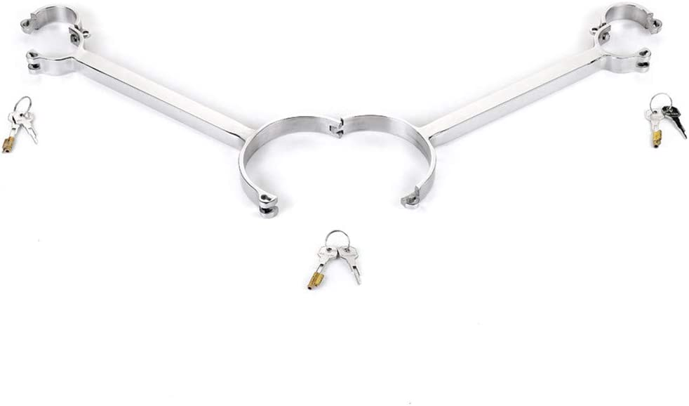 LI Yuan Stainless Steel Neck Collar Ankle 5% OFF Hand Max 75% OFF Erotic Cuffs and