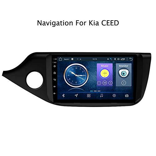 Android Car MP5 Player con Pantalla Táctil De 9 Pulgadas GPS Navegador para Kia Ceed 2012-2016 Mirror Link Radio FM WiFi Bluetooth Multimedia Reproductor De Video Estéreo