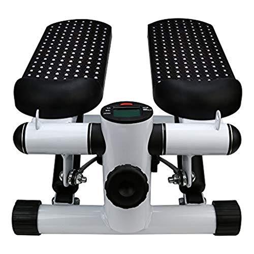 Landscap Foldable Floor Foot Pedal Exerciser Leg Machine Multi-Function Indoor Sports Stepper(Black)