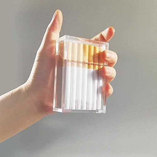 Clear glitter cigarette case _image1