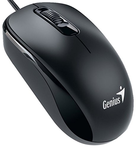 Genius DX-110 - Raton óptico, Color Negro
