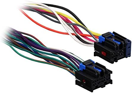 Metra 71-1858 Reverse Wiring Harness for Select 1987-2005 GM Vehicles
