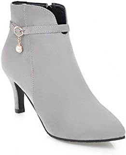 BalaMasa Womens ABS14004 Pu Boots