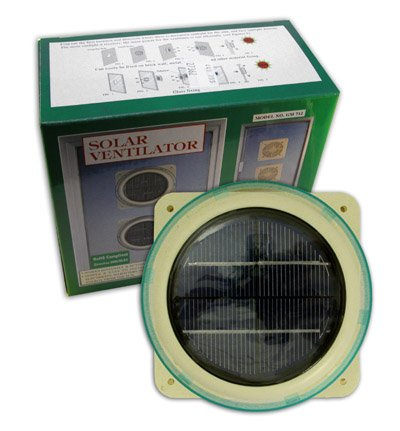 Solar Ventilator Domestic Marine Caravan Solar Powered V