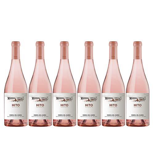 CEPA 21 - Hito Rosado, Vino Rosado, Tempranillo, Ribera del Duero, Pack de 6 botellas de 750 ml