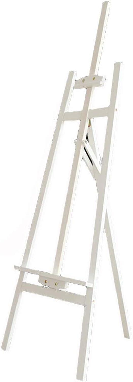 apresurado a ver YYHSND Soporte de de de exhibición de Pintura Caballete de Pino Marco de Dibujo de Arte Ajustable boceto Marco 148 cm Caballete (Color   blanco)  ahorra hasta un 30-50% de descuento