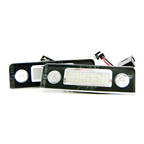 2 x LED Kennzeichenbeleuchtung Xenon Leuchte Kennzeichen Beleuchtung 6000K