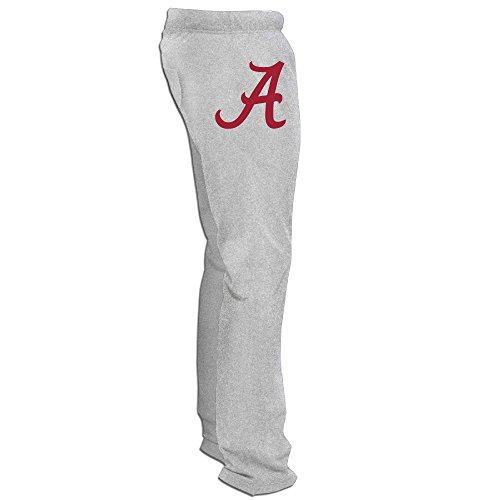Alabama Crimson Tide Logo Men's Sweatpants Ash