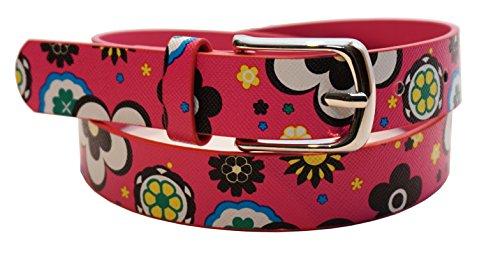 EANAGO Bellissima cintura per bambini della scuola dell'infanzia e della scuola elementare (fianchi 57-72 cm) (rosa)