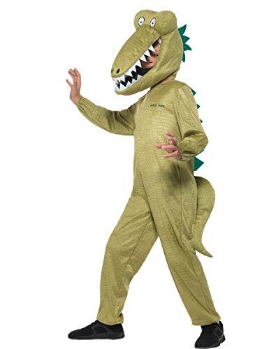Smiffys Disfraz de cocodrilo enormente de Roald Dahl con licencia oficial