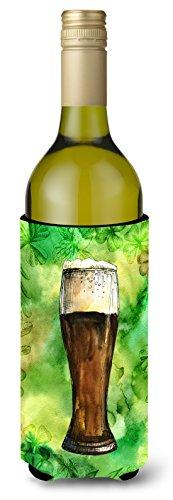 Caroline tesoros del Irlandés Cerveza oscuro botella de vino bebida Insulator Hugger, 750ml, Multicolor