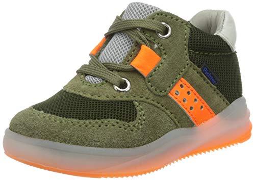 Richter Kinderschuhe Harry Hohe Sneaker, Grün (Scandina/Flint/N.O/W 8101), 23 EU