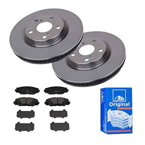 2 Bremsscheiben Ø296 Belüftet + Bremsbeläge ATE P-A-01-00440 Bremsanlage