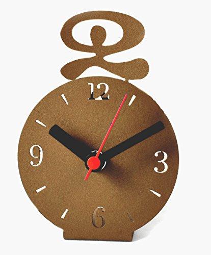 FORJASPORT Reloj DE SOBREMESA Mod. INDALO (Marron TEXTURADO)