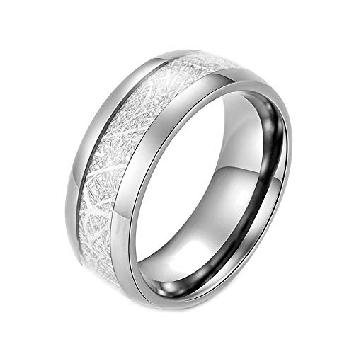 N-A Titanium Steel Blue Black Silver Color Ring for Men Party Finger Jewelry Wedding Ring Male Accessories