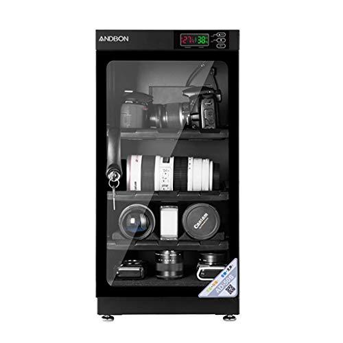 LXDDP Caja a Prueba Humedad electrónica Completamente automática Cámara Lente 50L Gabinete seco Operación silenciosa 5W Baja Potencia
