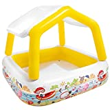 Intex 57470 - Piscina hinchable infantil con toldo extraíble - 157x157x122 cm - 295 l