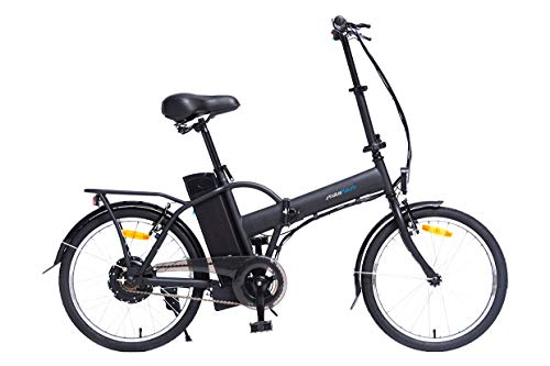 Skateflash SK Urban Ride EBIKE - Bicicleta eléctrica Plegable - 500w de Potencia [Regalo Casco y Guantes skateflash] 35 Km de autonomía - Color Gris